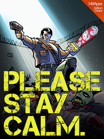 Please Stay Calm ™ - Zombie Apocalypse Survival MMO RPG screenshot #1
