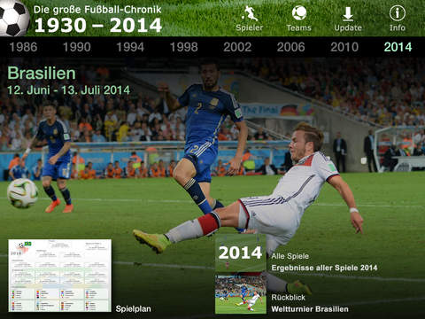 Die große Fußball-Chronik 1930 – 2018 screenshot 6