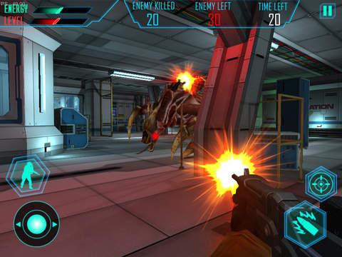 Alien Space Shooter 3D screenshot 9