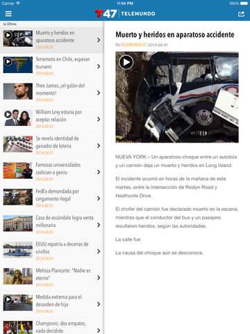 Telemundo 47 screenshot 8