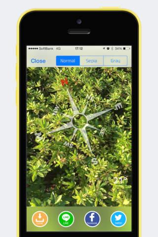TransParent Compass - náhled