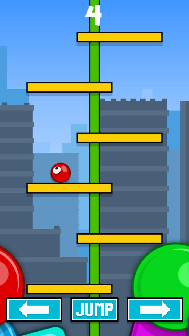 Fancy Stairs vs Red Ball FREE screenshot 3