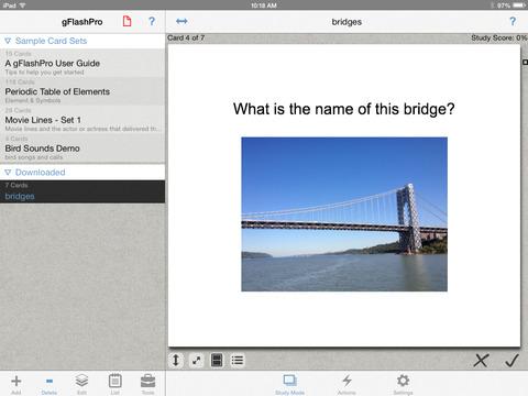 gFlashPro - Flashcards & Tests screenshot 6