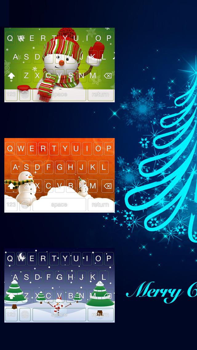 Christmas Keyboard - Color Keyboard screenshot 1