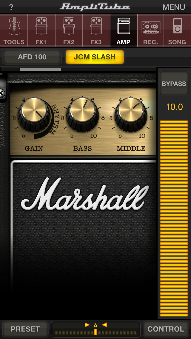 AmpliTube Slash screenshot 1