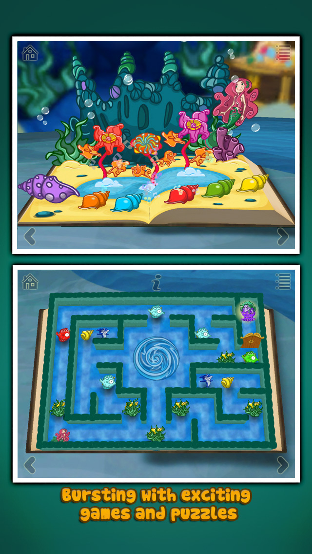 StoryToys Little Mermaid screenshot 2