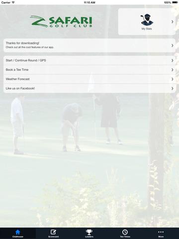Safari Golf Club screenshot 7