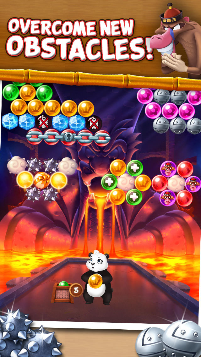 Panda Pop! Bubble Shooter Game screenshot 2