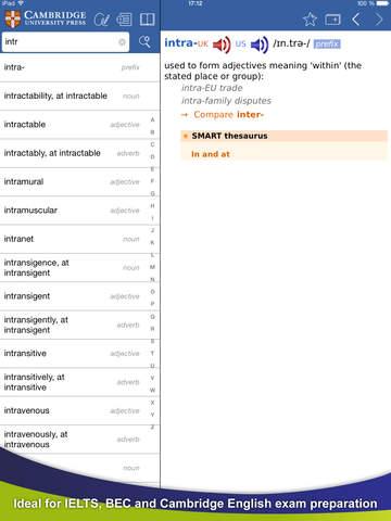 Cambridge English Dictionary screenshot 10