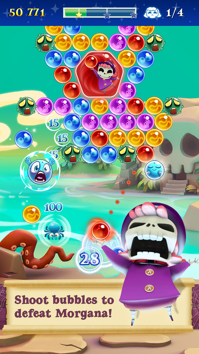 Bubble Witch 2 Saga screenshot 3