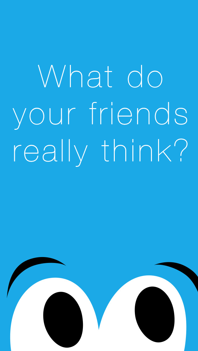Rumor - an anonymous communication app where you see what your friends really think screenshot 1