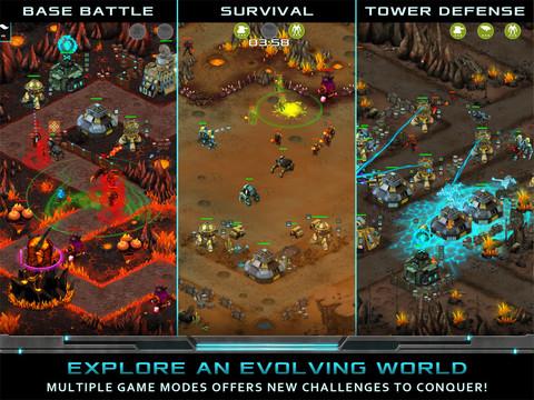 Nitropia - War Commanders screenshot #2