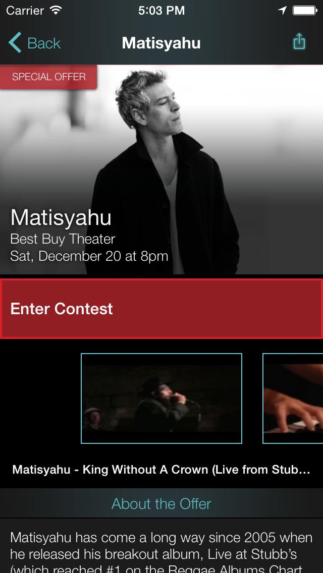 Thrillcall Live Music screenshot 4