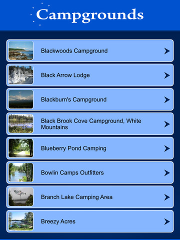 Maine Campgrounds Guide screenshot 7