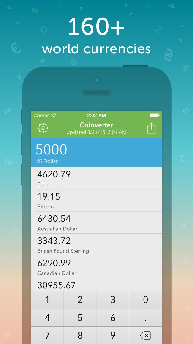 Coinverter screenshot 1