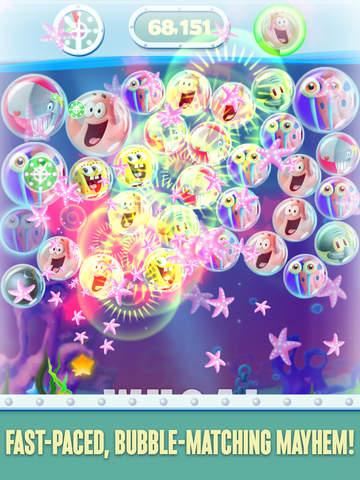 SpongeBob Bubble Party screenshot 6