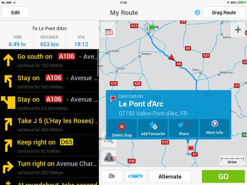 CoPilot GPS Navigation screenshot 7