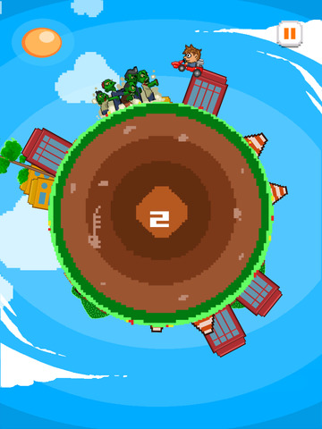 ` Angry Zombie Go Kart Road Race Free - Jumpy 8 Bit Pixel Edition by Top Crazy Games screenshot 8