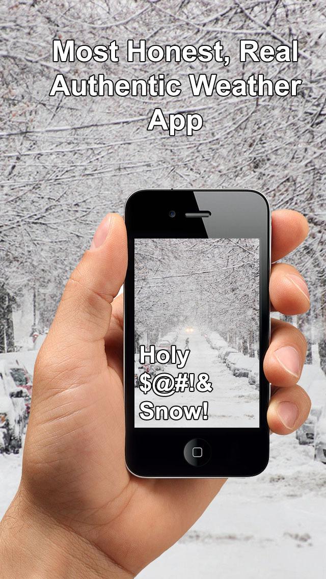 Honest Weather - Most Real, Honest & Authentic Weather app screenshot 2