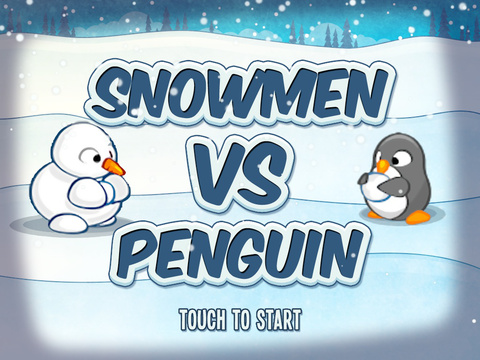 Snowmen Vs Penguin FREE screenshot 6