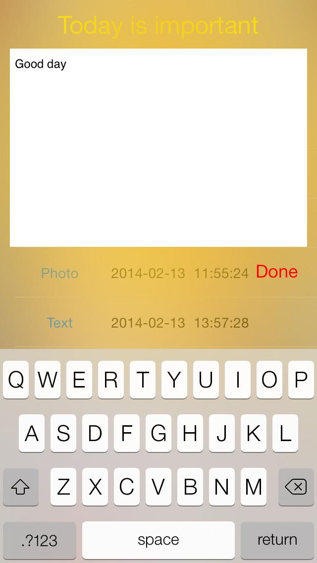 Diary Pro with multimedia screenshot 5