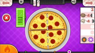 Papa's Pizzeria To Go! screenshot 4