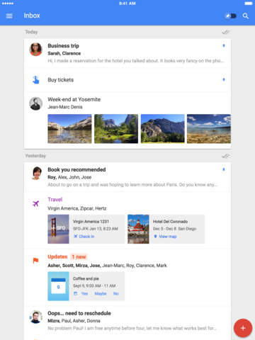 Inbox by Gmail screenshot 6