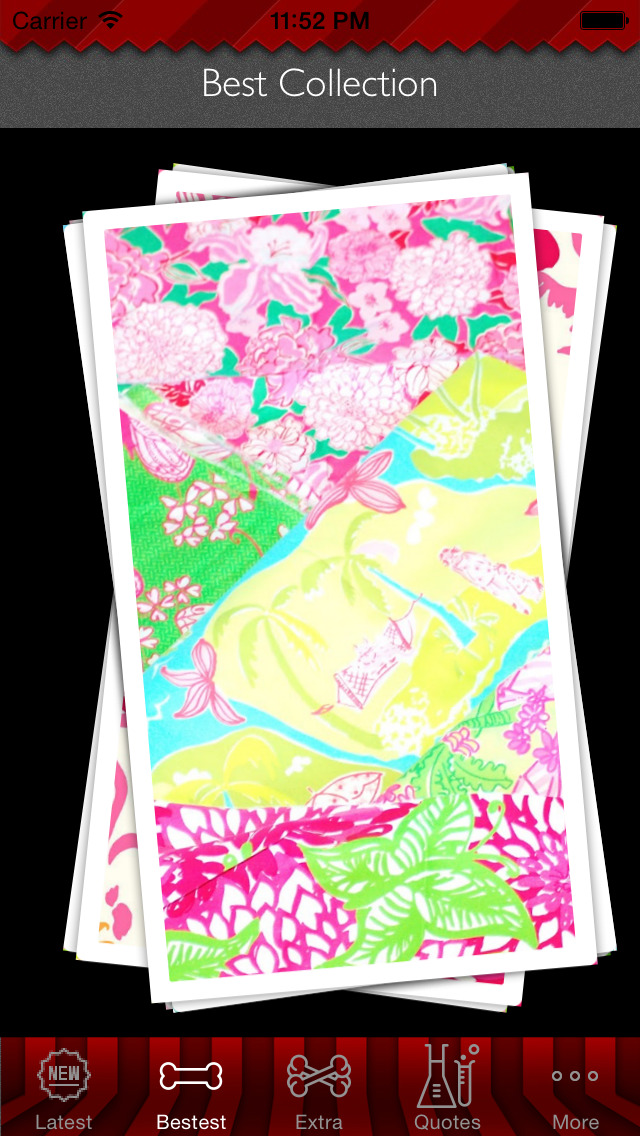 Wallpaper for Lilly Pulitzer Design HD and Quotes Backgrounds Creator with Best Prints and Inspiration screenshot 3