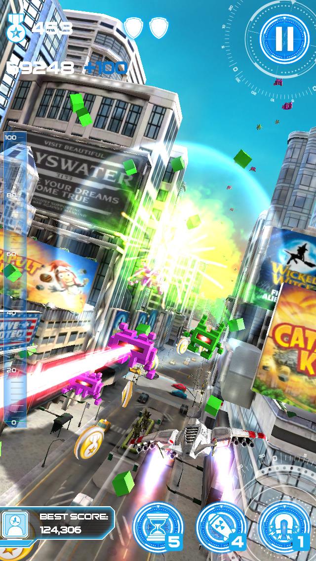 Jet Run: City Defender screenshot #3