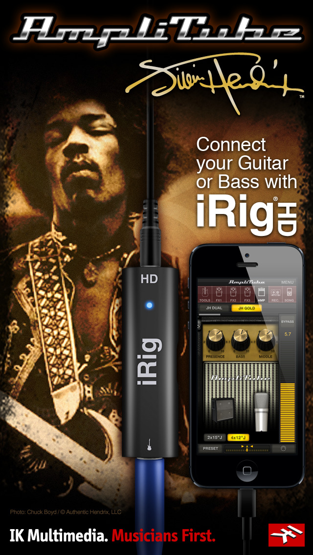 AmpliTube Jimi Hendrix™ screenshot 2