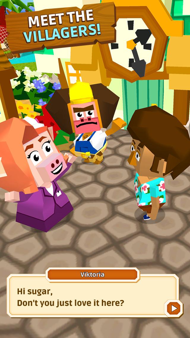 Castaway Paradise Town Builder screenshot 3
