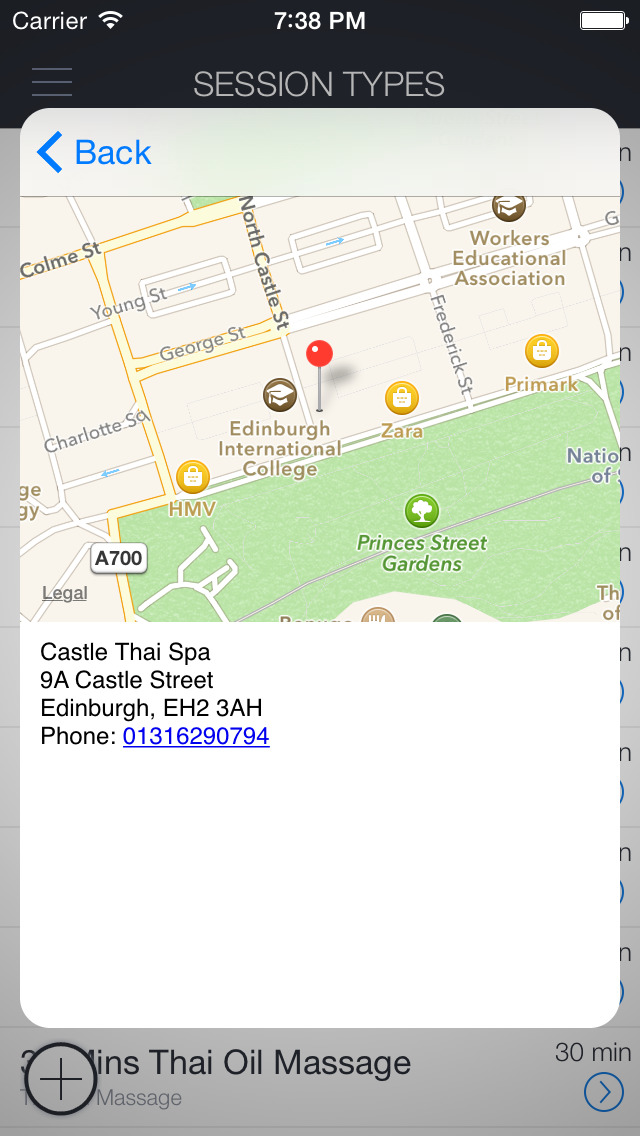 Castle Thai Spa screenshot 3