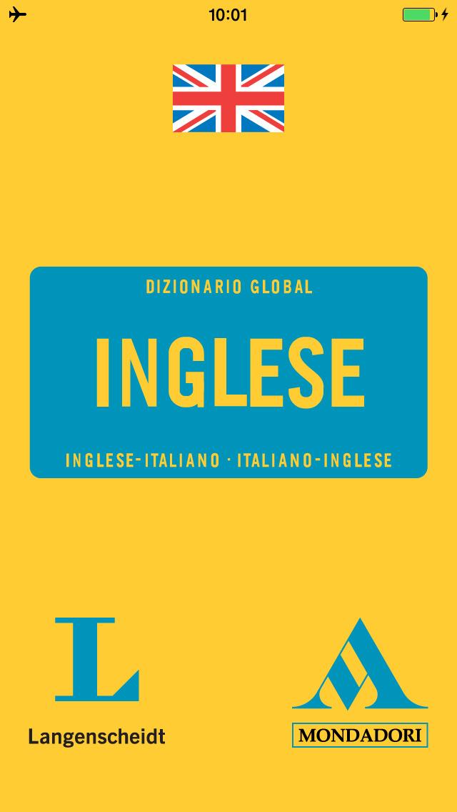 English <-> Italian Talking Dictionary Global Mondadori Langenscheidt screenshot 1