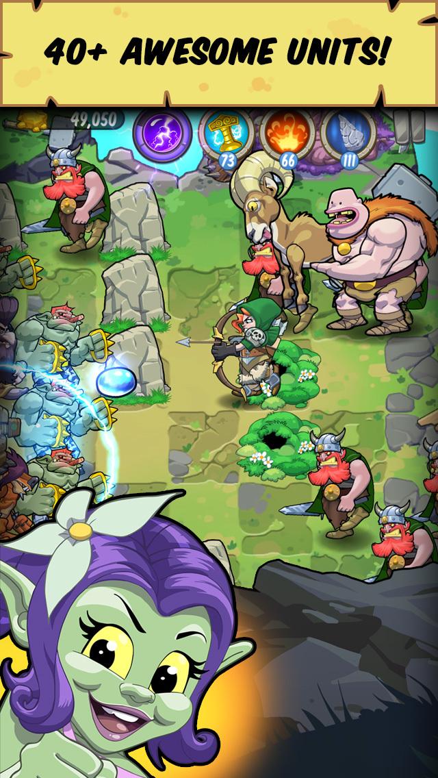 Trolls vs Vikings screenshot #3