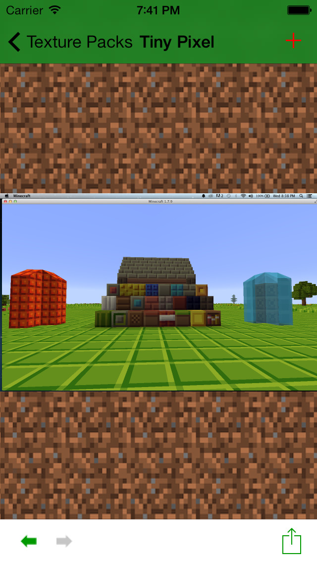 Texture Packs+ for Minecraft PE screenshot 3