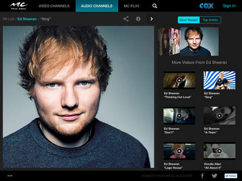 Music Choice for iPad | Apps | 148Apps