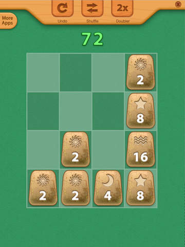 2048 Aztec Rune Stones Mini Puzzles screenshot 10