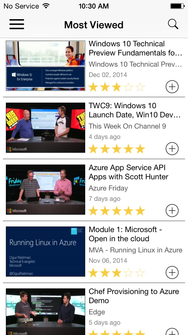 Microsoft Channel 9 screenshot 2