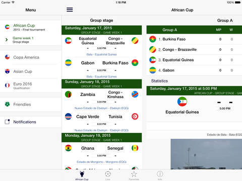 African Cup of Nations 2015 screenshot #2