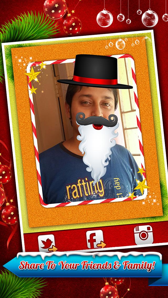 Santa Claus Photo Booth - Festive Merry Christmas Luxury Edition screenshot 4