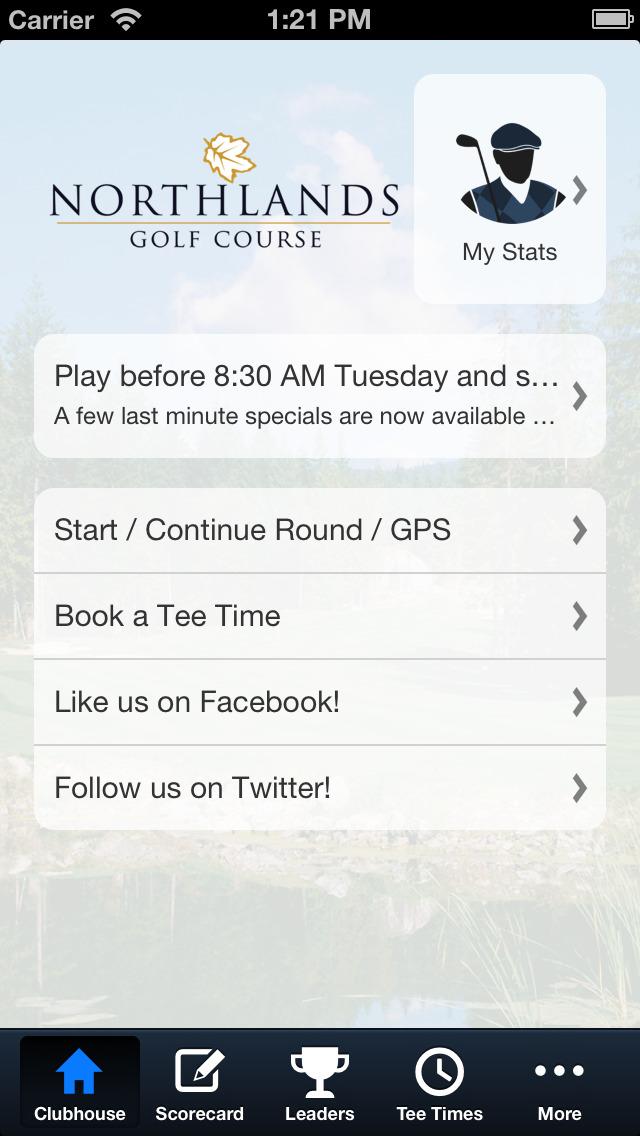 Northlands Golf Course screenshot 2