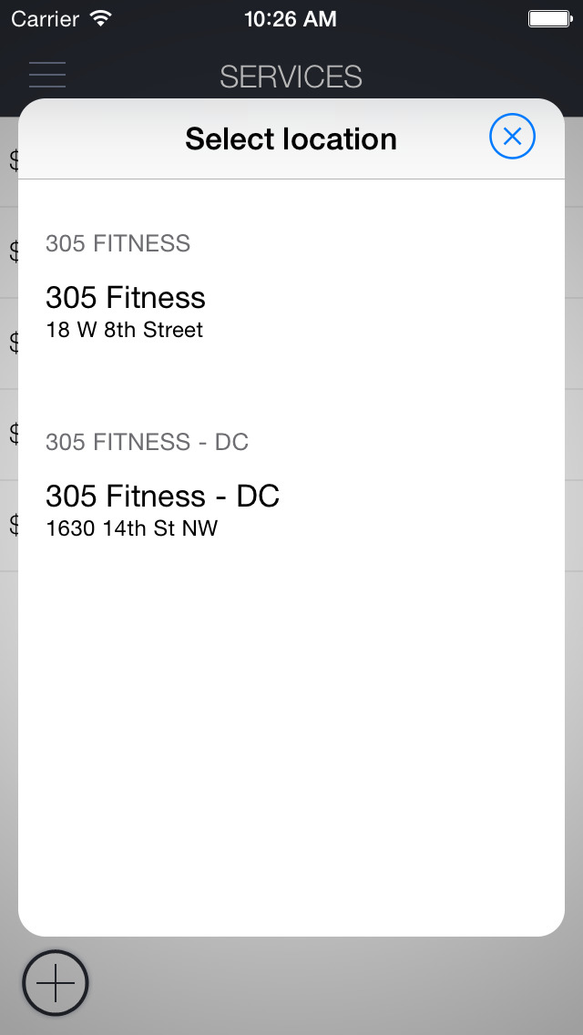 305 Fitness Schedule screenshot 4