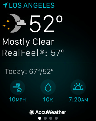 AccuWeather: Weather forecast screenshot 11