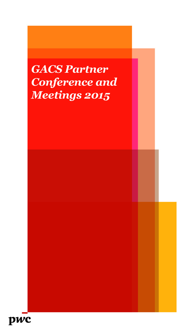 PWC GACS Conference 2015 - DNU screenshot 1