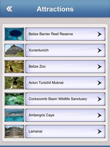 Belize Essential Travel Guide screenshot 8