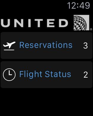United Airlines screenshot 11