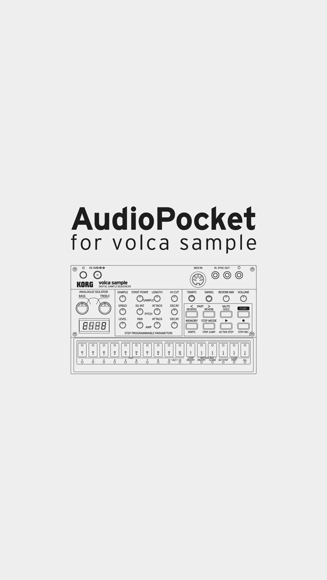 AudioPocket for volca sample screenshot 1