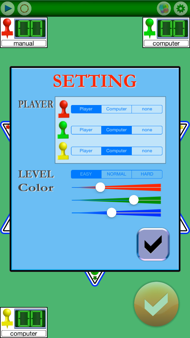 Chinese Checkers FVN screenshot 2