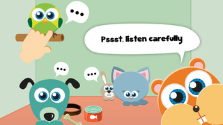 Play with Baby Pets - The 1st Sound Game for a toddler and a whippersnapper free screenshot 1