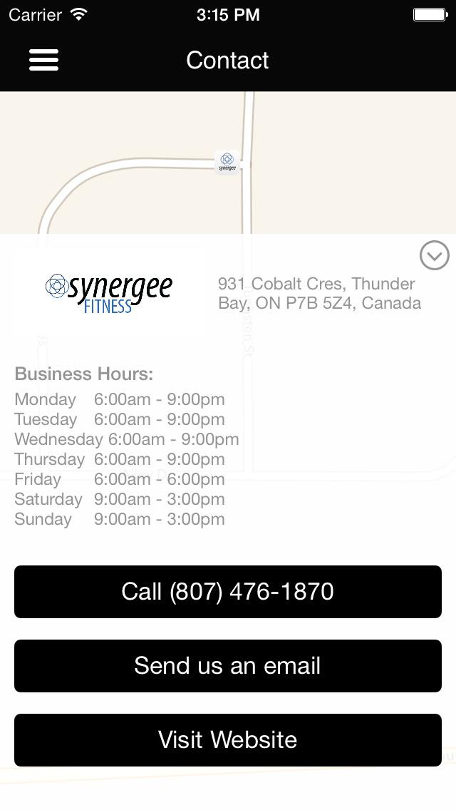 Synergee Fitness screenshot #5